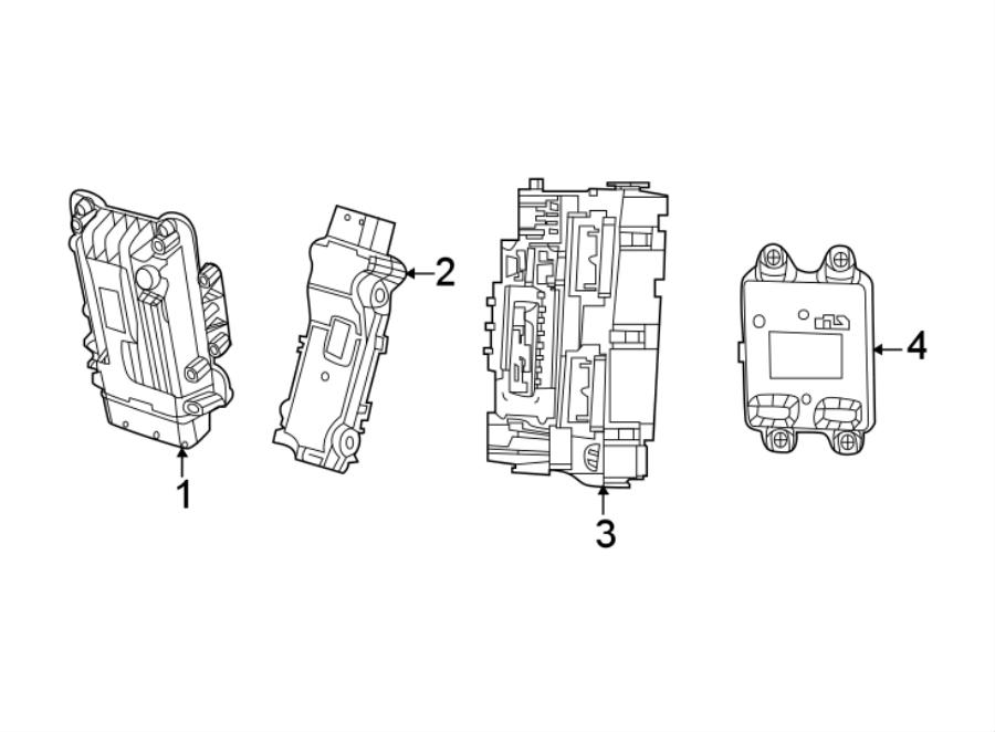 Jeep Compass Automatic Transmission Control Module