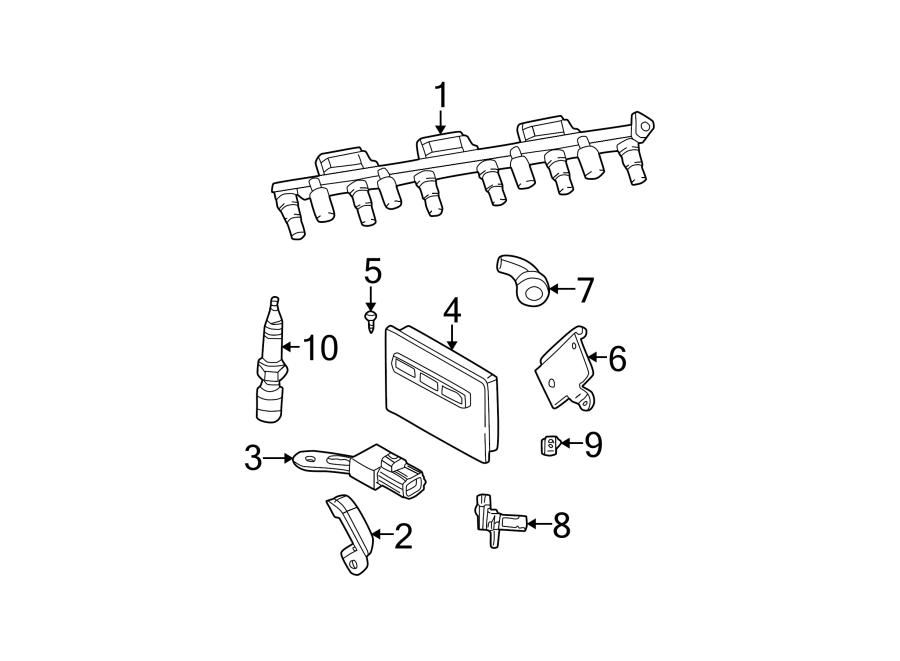 Jeep Wrangler Sensor. Camshaft. Position. Engine. 2.4