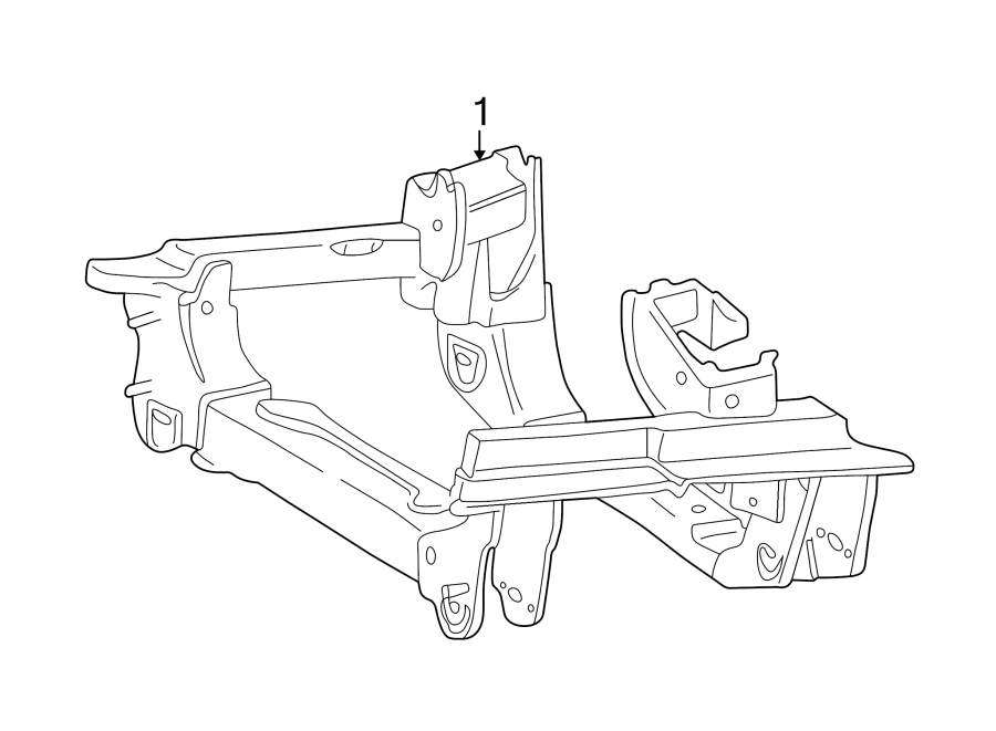 Jeep Liberty Engine Cradle. 3.7 liter. Suspension