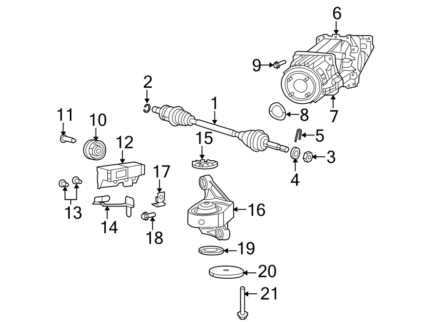 Jeep Patriot Bracket. Wiring. 4wd. Axle, differential