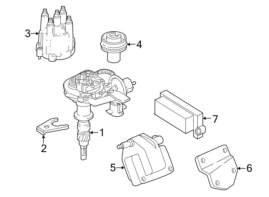Jeep Wrangler Engine Control Module. 4.0 liter, auto trans