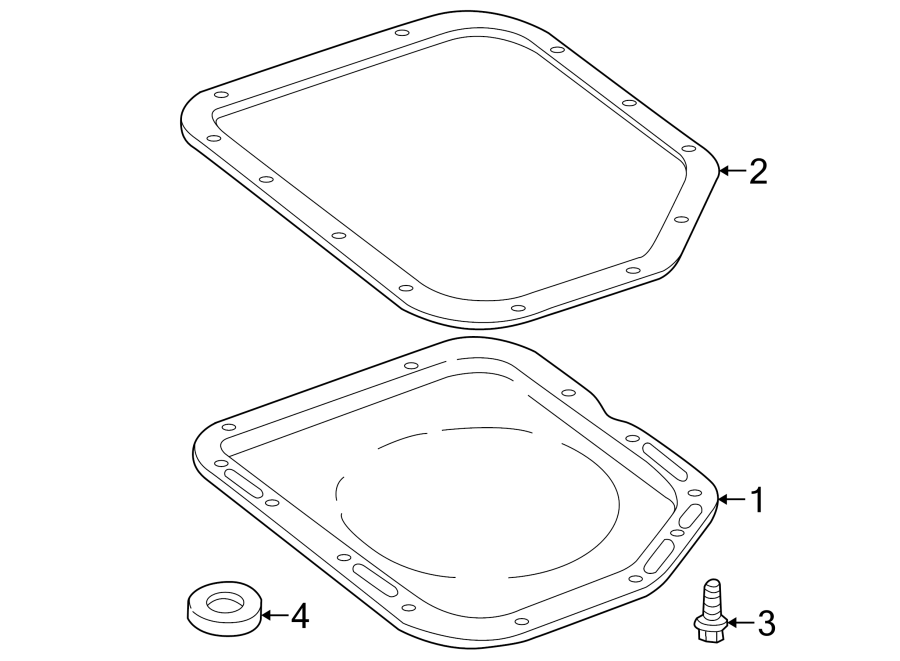 Jeep Wrangler Automatic Transmission Oil Pan Gasket
