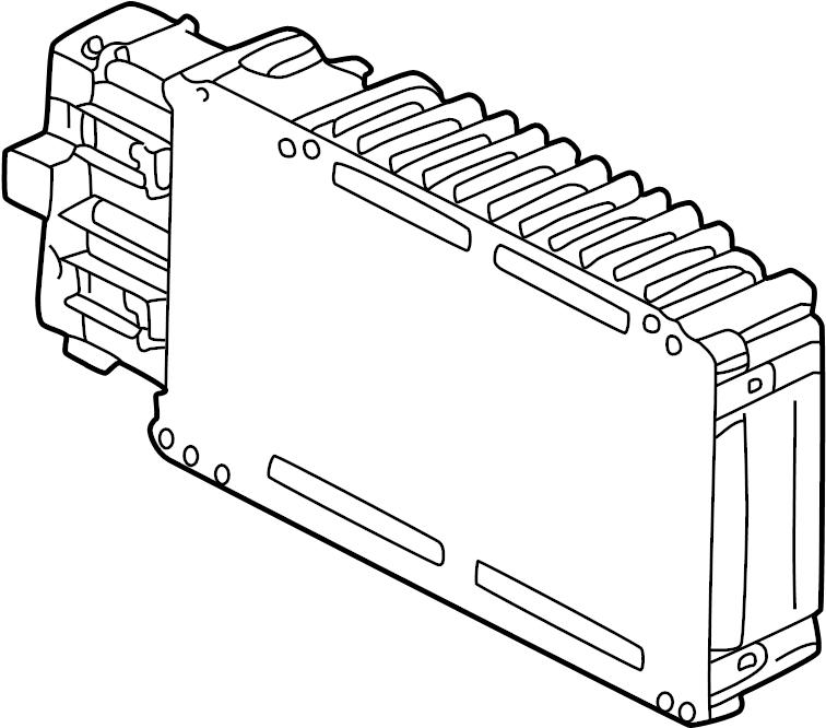 Chrysler Concorde Engine Control Module. California, Liter