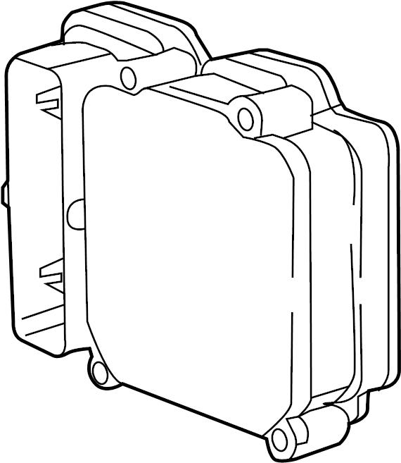 Chrysler Pacifica Abs control module. Light, repair