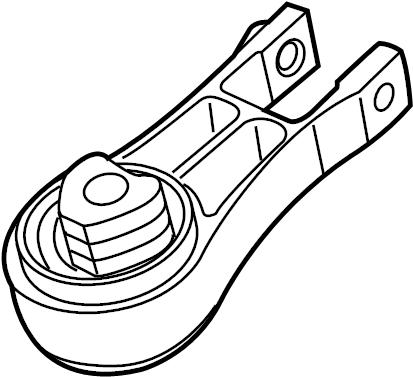 Chrysler Pacifica Engine Torque Strut (Rear). Pacifica; w