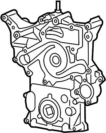 Dodge Magnum Engine Timing Cover. LITER, Grand, BEARINGS