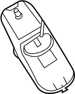 Dodge Charger Vapor Canister. Vapor canister. Vent hose