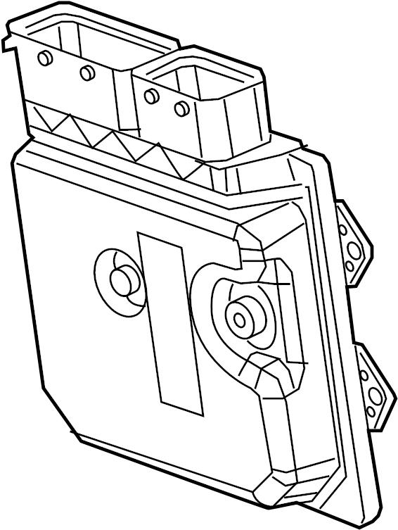 Dodge Dart Ecm. Engine control module. Engine controller
