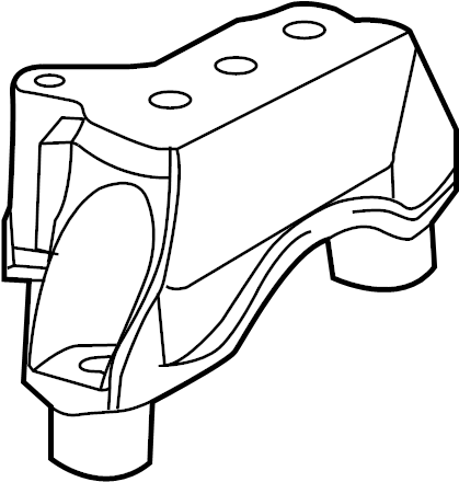 Dodge Dart Manual Transmission Mount. Replace, ENGINE
