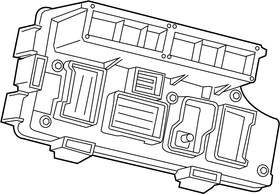 Dodge Avenger Fuse. Box. And Relay Center. Distribution