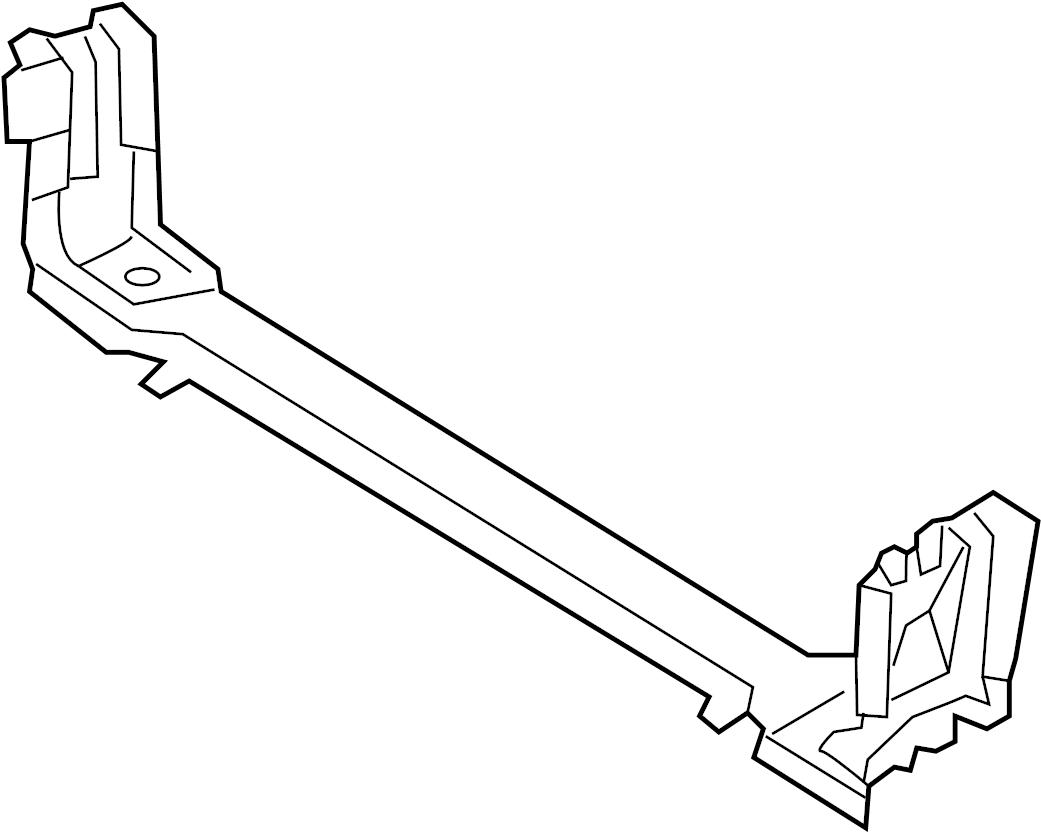 Dodge Magnum Crossmember Radiator Bar Tie Support