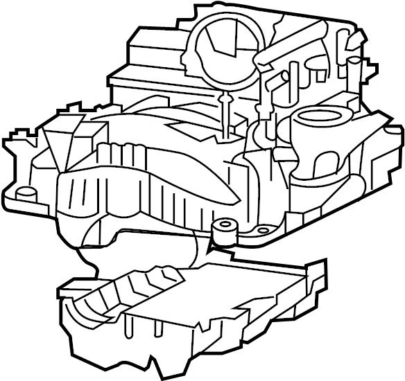 Jeep Commander Engine Intake Manifold. 5.7 LITER. 5.7