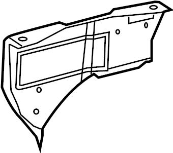 Dodge Sprinter 2500 Battery Tray Bracket. Box, Fuse