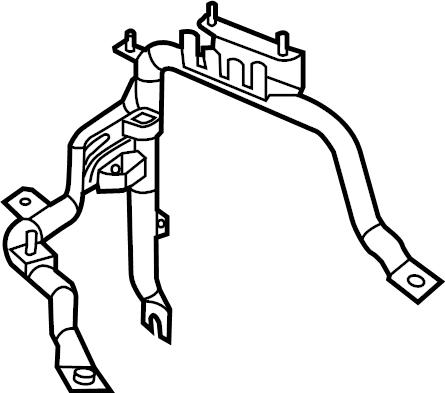 Ram ProMaster 3500 Fuse Box Bracket. Telematics, Mount