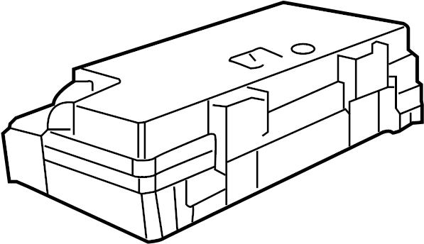 Jeep Wrangler Fuse Box Cover. Upper, Telematics, Lighting