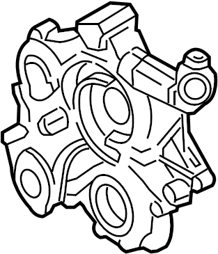 Jeep Liberty Engine Timing Cover. LITER, Grand, BEARINGS