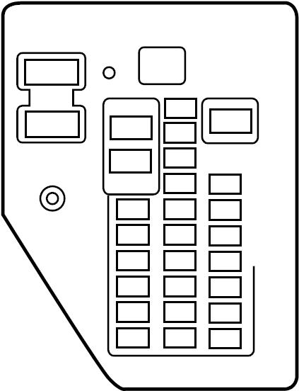 Dodge Durango Fuse Box. Junction block. Relay. A component
