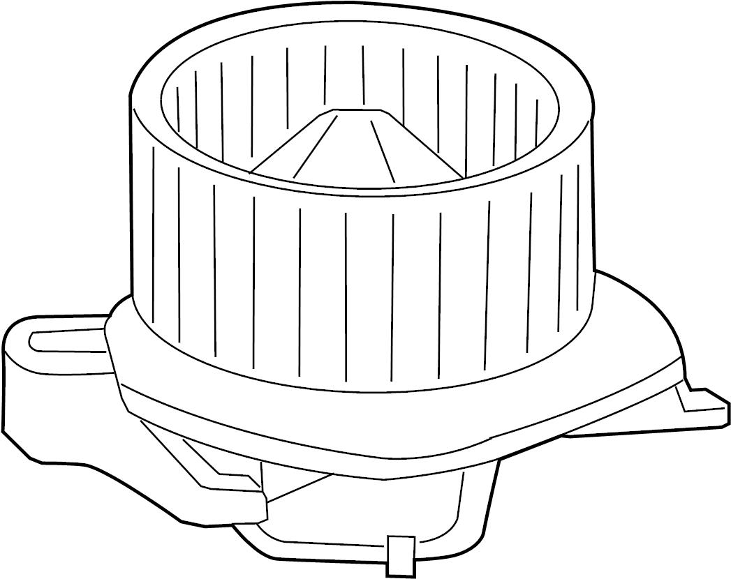 Dodge Durango Motor. Blower. HVAC. With Wheel. Incl