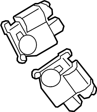 Dodge Durango Hvac air inlet door actuator. Air