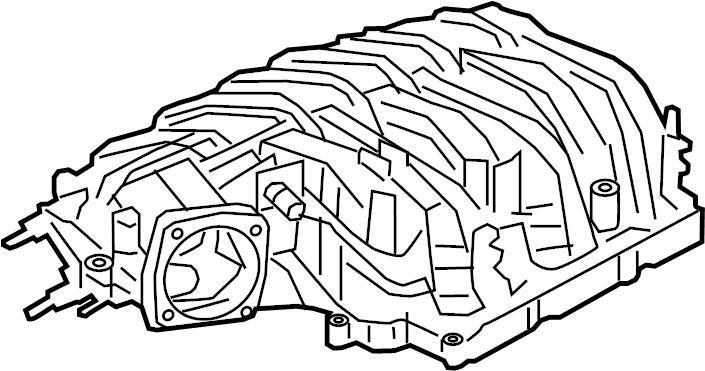 Jeep Grand Cherokee Engine Intake Manifold. 3.6 LITER