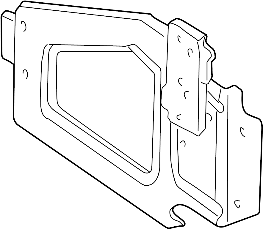 Dodge Dakota Engine Control Module Bracket. Ignition