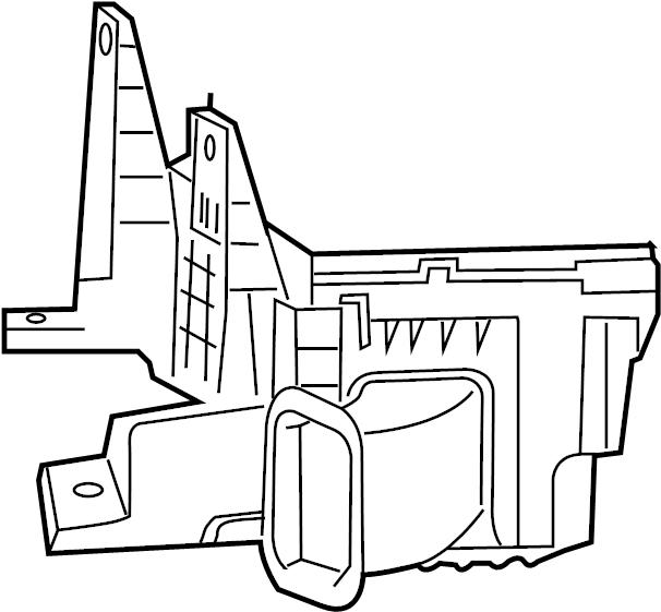 Dodge Ram 2500 Air Filter Housing (Lower). 5.9 LITER