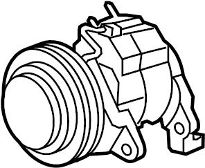 Dodge Ram 1500 A/c compressor. Liter, repair, cab