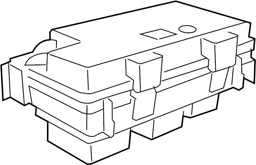 Dodge NITRO Cover. Fuse. Box. Relay. (Upper). 2009-10