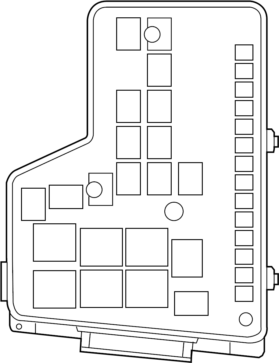 Dodge Ram 1500 Fuse and Relay Center. 3.7, 4.7, 5.7 liter