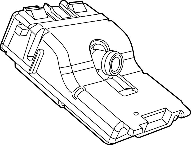 Jeep Grand Cherokee Camera. Forward Facing. Make, Replace