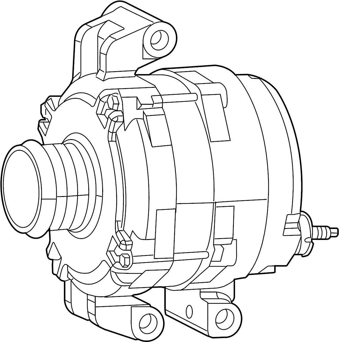 Jeep Cherokee Alternator Engine Generator 2 4 Liter