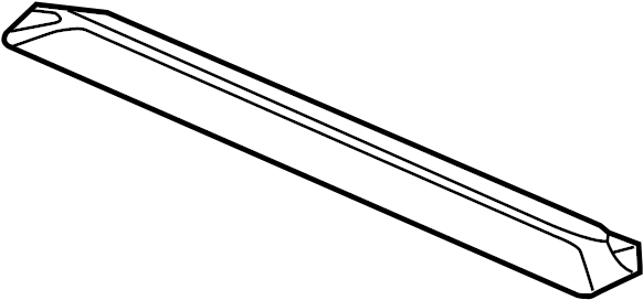 Jeep Liberty Radiator Support Tie Bar (Upper). 2.8 LITER