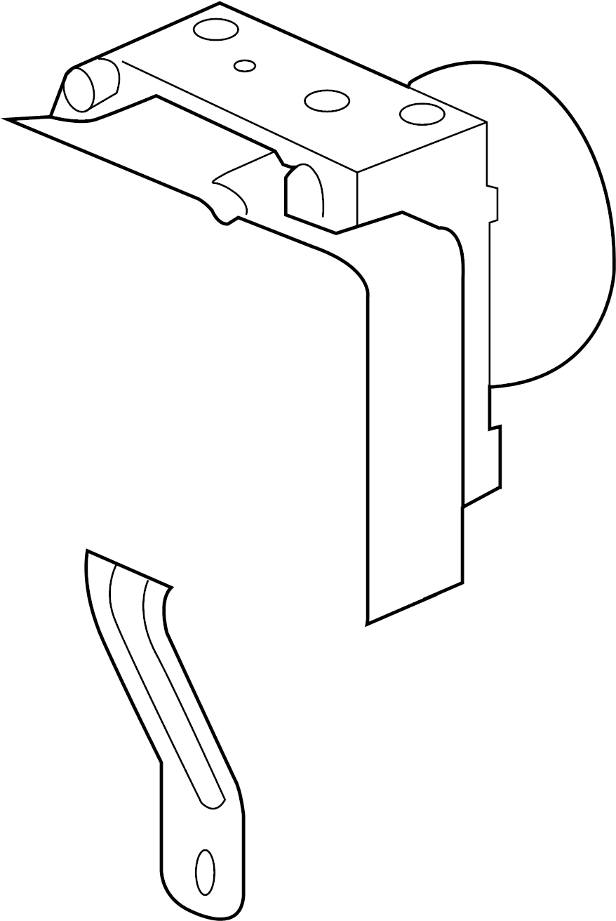 Jeep Liberty Abs. Modulator. Control. An abs modulator