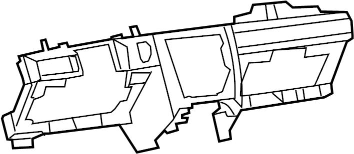 Jeep Grand Cherokee Dashboard Panel. Instrument, Gray