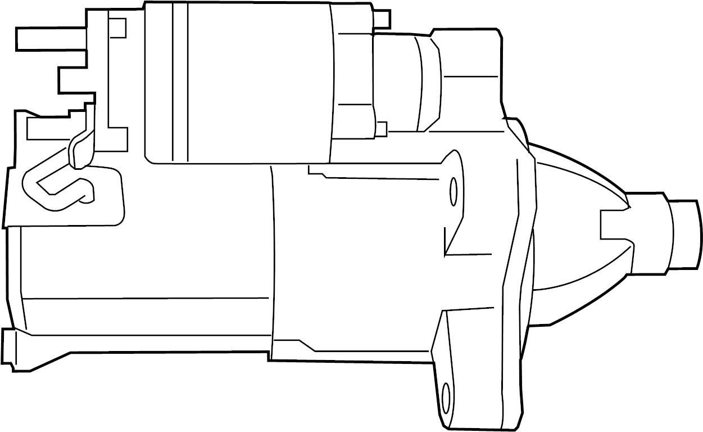 Jeep Wrangler Starter Motor