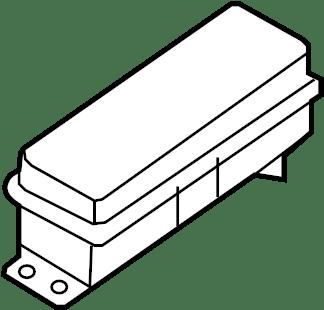 Jeep Cherokee Fuse. 2019-20, 20 amp. UNDERHOOD, 20 amp