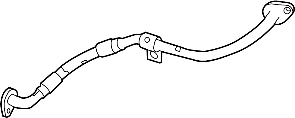Ram 2500 Pipe. Coolant. Engine. Connector. 6.4 LITER