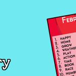 #IGLC February Prompts