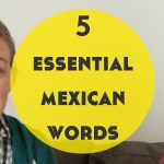 5 Essential Mexican Words – A Video feat. Siskia, The Polyglotist