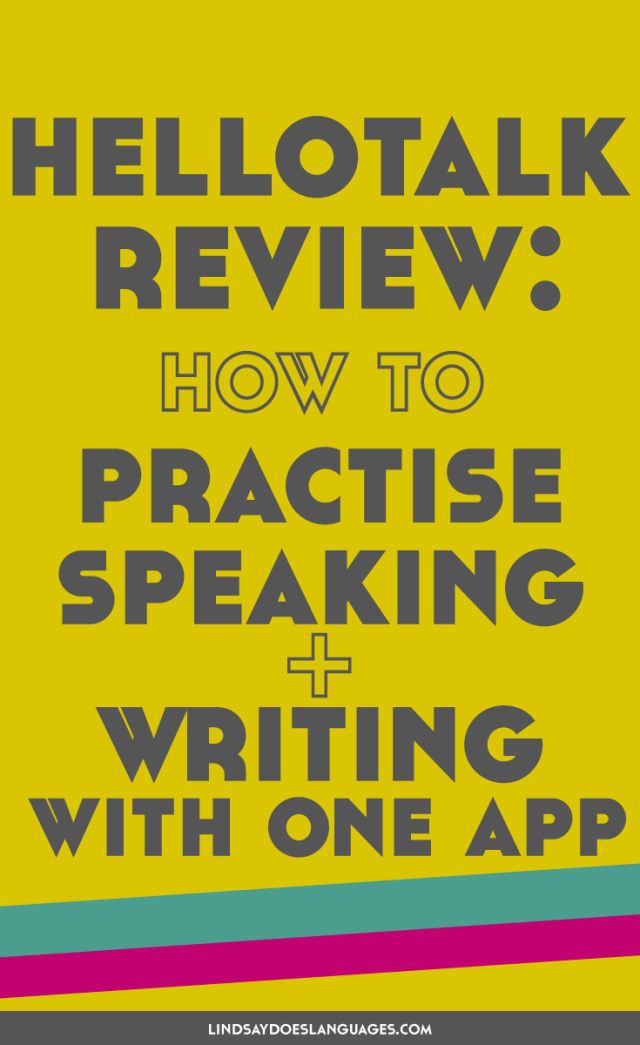 Looking for language practise on the go? Check out this HelloTalk review. A great app for language learners everywhere to practise speaking and writing.