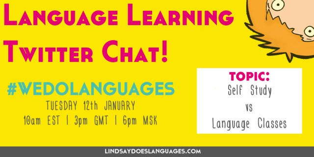 Join us on Tuesday for our #WeDoLanguages Twitter Chat at 3pm GMT! Click through for more details!