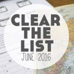 Language Learning Goals: Clear The List – June 2016