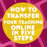 How to Transfer Your Language Teaching Online in 5 Steps