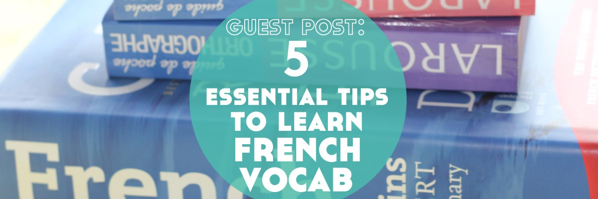 There are many ways to learn French vocabulary. But there are also some things that will improve how you learn. Click through to get your free cheatsheets!