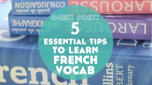 Guest Post: 5 Essential Tips to Improve How You Learn French Vocabulary