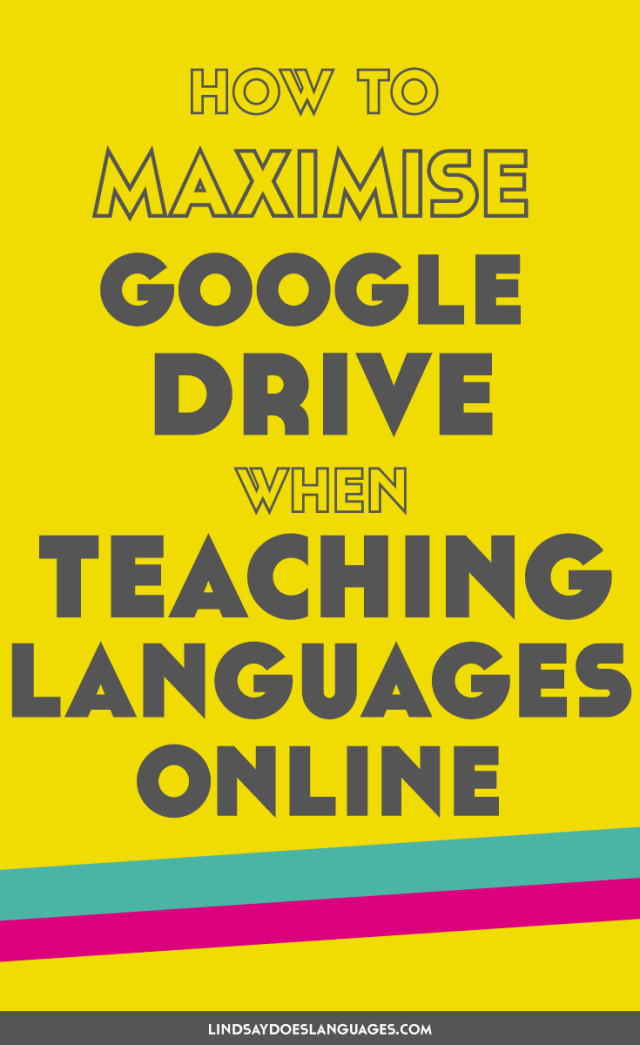 Google Drive is one of the most important things for my online teaching business. Click through to read how I make the most of it for me and my students + how you can too >>