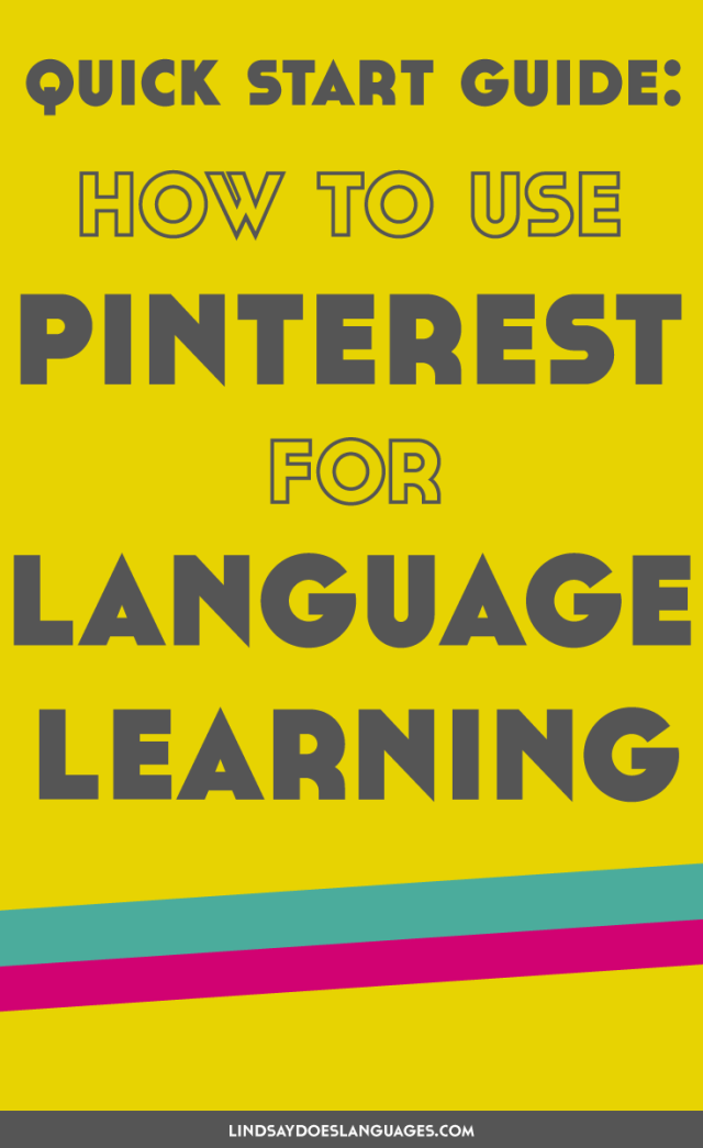 Social media is a great tool for languages. But how can you use Pinterest for language learning? Click through + find out how to learn languages with Pinterest.