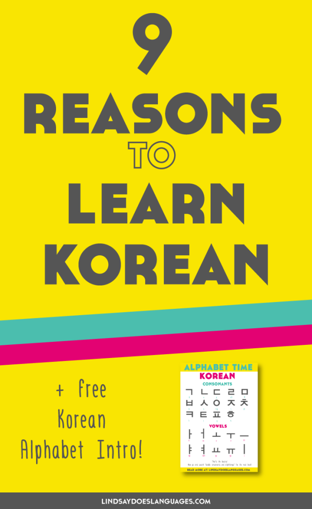 9 Reasons to Learn Korean (+ the best resources to learn it)