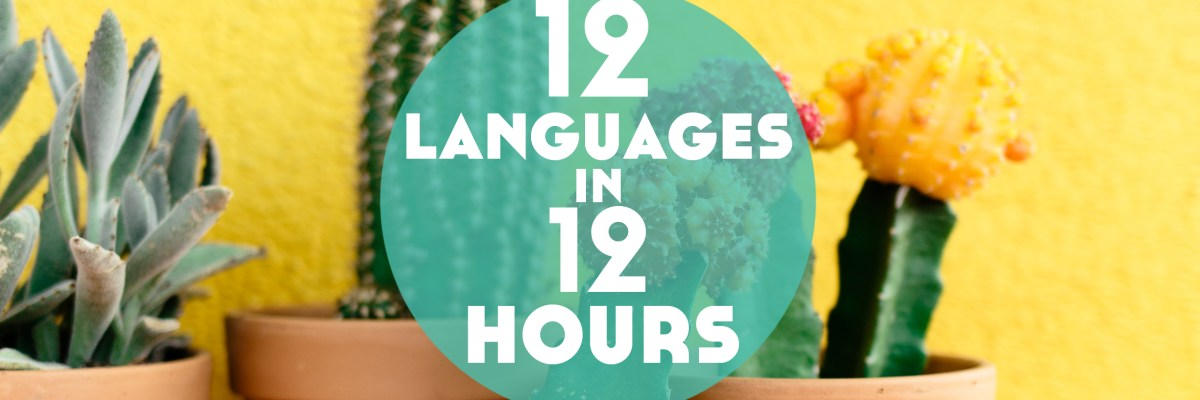 The italki Diversity Language Challenge is polyglot heaven! Here's my story of 12 Lessons in 12 Different Languages in 1 Month with the Language Challenge.