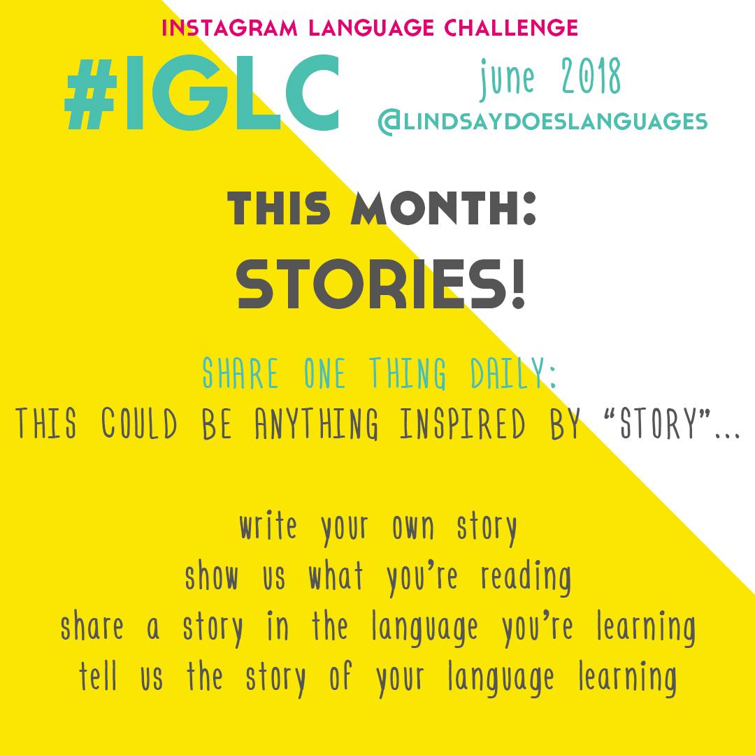 IGLC Instagram Language Challenge - June 2018 - Lindsay Does